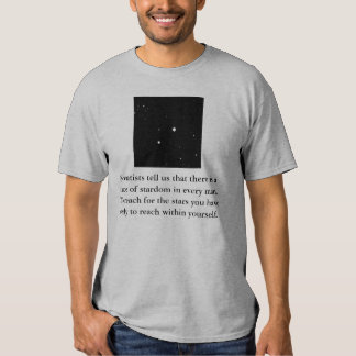 Scientists tell us that there is a... t shirt