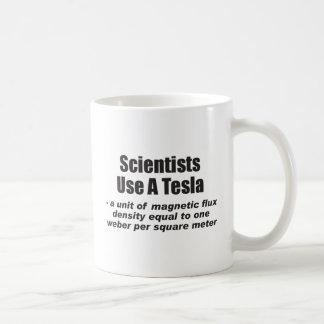 Scientists Use a Tesla Coffee Mug
