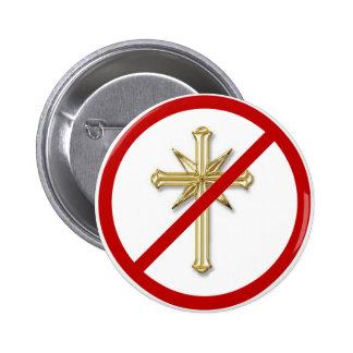 Scientology - Say No Pinback Button