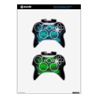 SciFan magic blue and green Xbox 360 Controller Skins