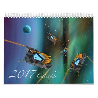 Scifi 2017 Calendar