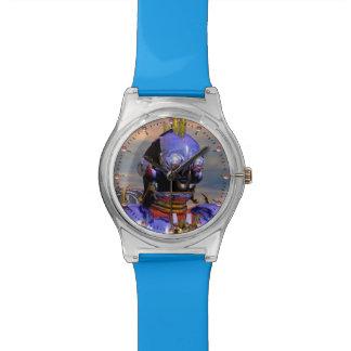 Scifi azul de la ciencia ficción del RETRATO del Relojes De Mano