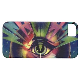 SciFi Cosmic Rays Radar Eye Alien ICU Nurse Doctor iPhone SE/5/5s Case