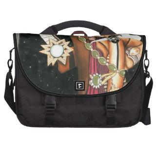 SciFi Fantasy Star Princess Warrior CricketDiane Laptop Commuter Bag