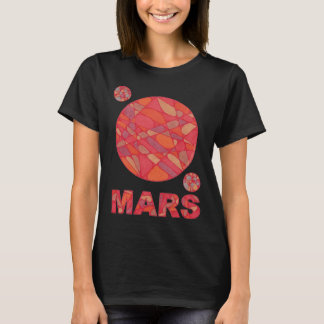 SciFi Space Geek Mars Red Planet Shirt