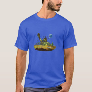SciFi Worlds - Earth in Ruins T-Shirt