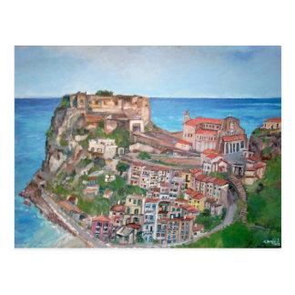 Scilla, Italy - Postcard