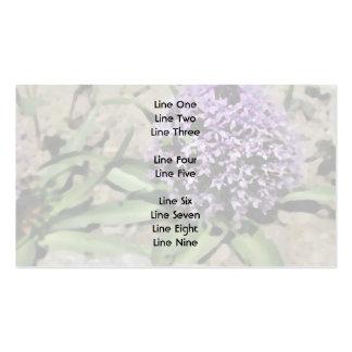 Scilla. Pretty purple flower. Business Card