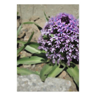 Scilla. Pretty purple flower. Large Business Card
