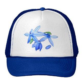 Scilla siberica mesh hat