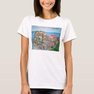 Scilla -Women's Hanes ComfortSoft® T-Shirt , White