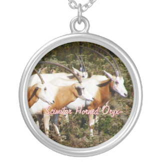 Scimitar Horned Oryx Necklace