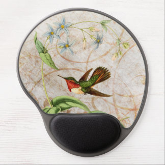 Scintillant Hummingbird Gel Mouse Pad