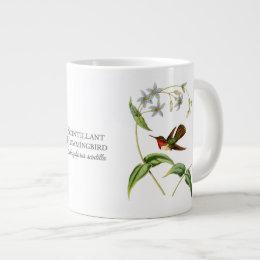Scintillant Hummingbird Jumbo Mug
