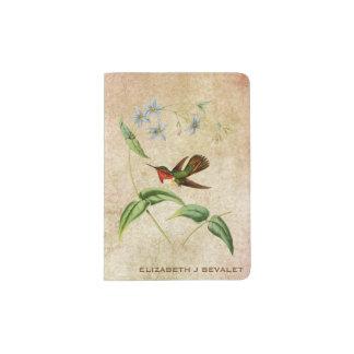 Scintillant Hummingbird Passport Holder