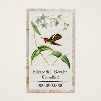 Scintillant Hummingbird Personal Business Cards