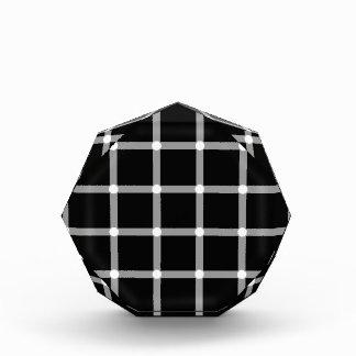 Scintillating black & white grid optical illusion award
