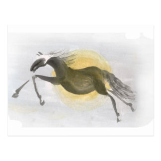 Scintillation - year of horse postcard