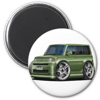 Scion XB Army Green Car Magnet