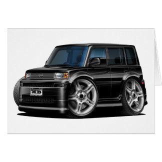Scion XB Black Car Card