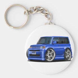 Scion XB Blue Car Keychain