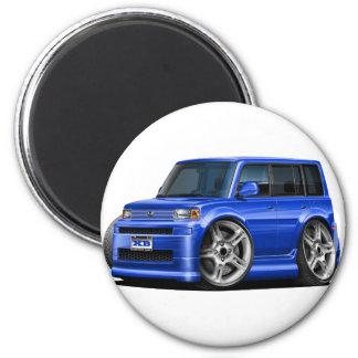 Scion XB Blue Car 2 Inch Round Magnet