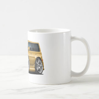 Scion XB Gold Car Classic White Coffee Mug