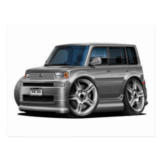 Scion XB Grey Car Postcard