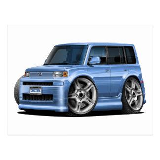 Scion XB Lt Blue Car Postcard
