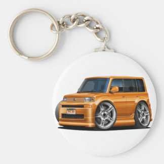 Scion XB Orange Car Keychain