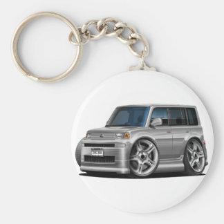 Scion XB Silver Car Keychain