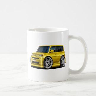 Scion XB Yellow Car Classic White Coffee Mug