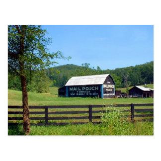 Scioto County Mailpouch Barn Postcard