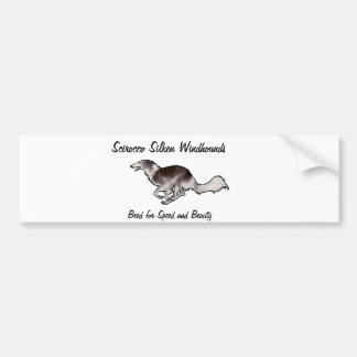 Scirocco Silken Windhounds Bumper Sticker