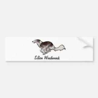 Scirocco Silken Windhounds Bumper Sticker