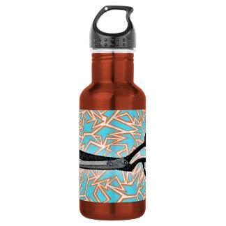 Scissor Art Stainless Steel Water Bottle