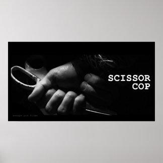 Scissor Cop - Tied Up Poster