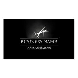 Scissor in the Dark Hair Salon Business Card
