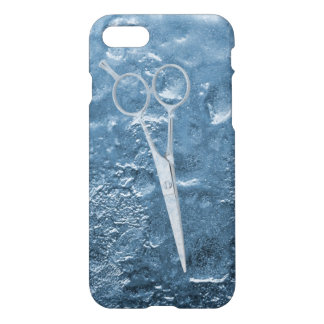 Scissor in the Ice Hair Stylist iPhone 7 Case