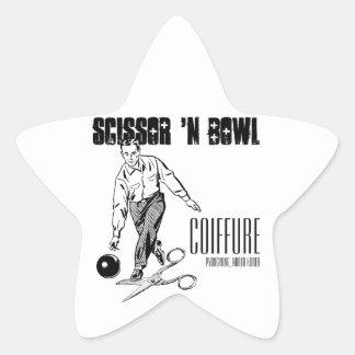 Scissor 'N Bowl Coiffure, NoKo Star Sticker
