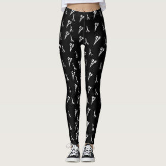 Scissor Pattern Leggings