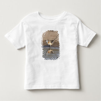Scissor-tailed Flycatcher reflected in pond Toddler T-shirt