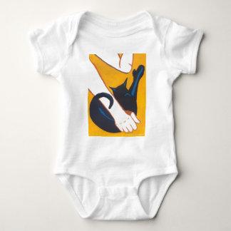 Scissorpaw Style Baby Bodysuit