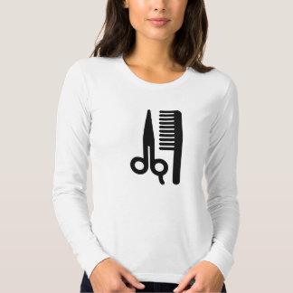 Scissors and Comb T Shirt