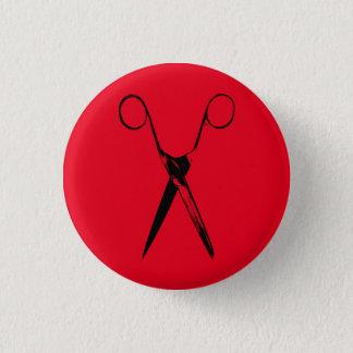 Scissors - black button