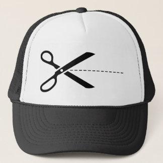 Scissors Cut Icon Trucker Hat