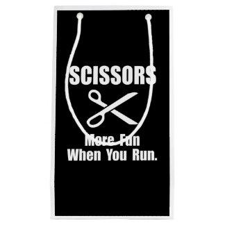 Scissors Fun Small Gift Bag