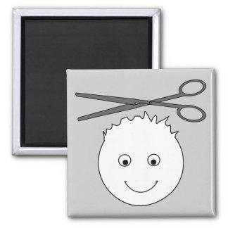 Scissors magnet