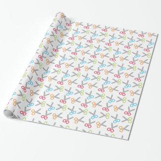 Scissors Pattern Gift Wrap
