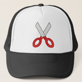 Scissors Trucker Hat